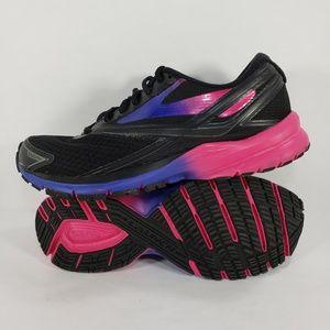 Brooks Shoes - Brooks Launch 4 DNA Black/Blue/Purple Running shoe